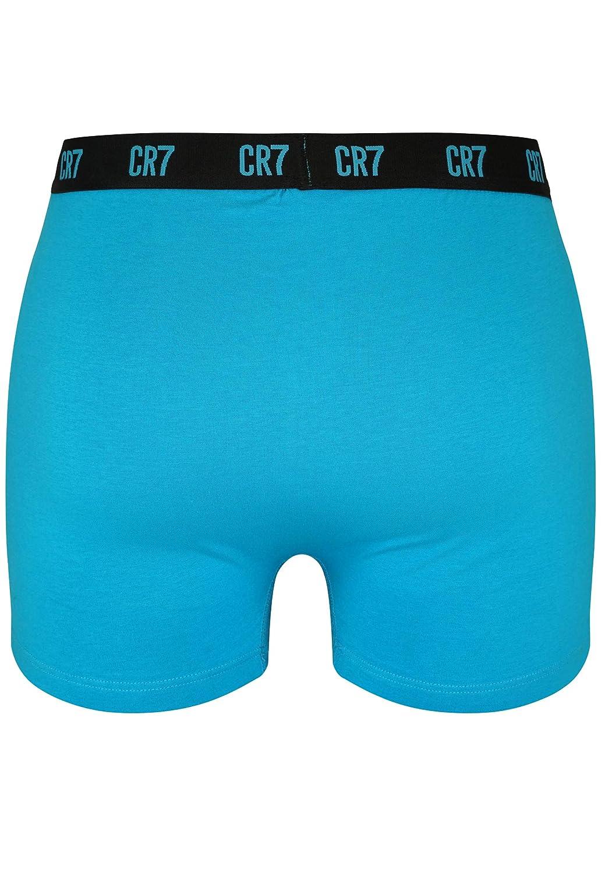 CR7 CRISTIANO RONALDO Herren Enganliegende Boxershorts Basic Trunk 3-Pack
