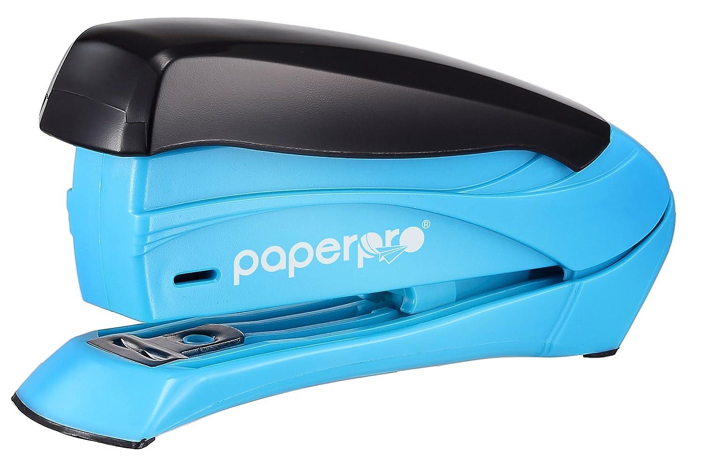 Esfuerzo reducido grapadora de escritorio color Premium, color escritorio negro 15 Sheets 599d4f