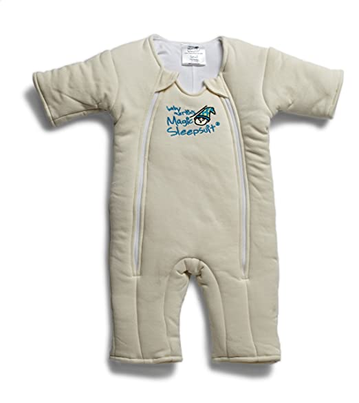 Baby Merlin's Magic Sleepsuit Cotton - Cream - 3-6 months
