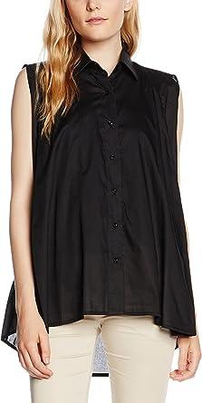 Fabi Camisa Mujer Negro ES 36 (IT 40): Amazon.es: Ropa y accesorios