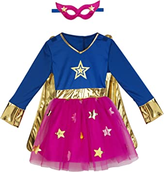 Imaginarium- Disfraz Talla 2-3 años, Party Superheroine 92-98 cm ...