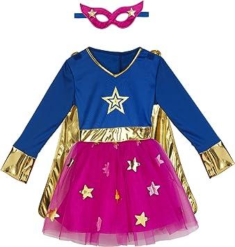 Imaginarium- Disfraz Talla 2-3 años, Party Superheroine 92-98 cm ...