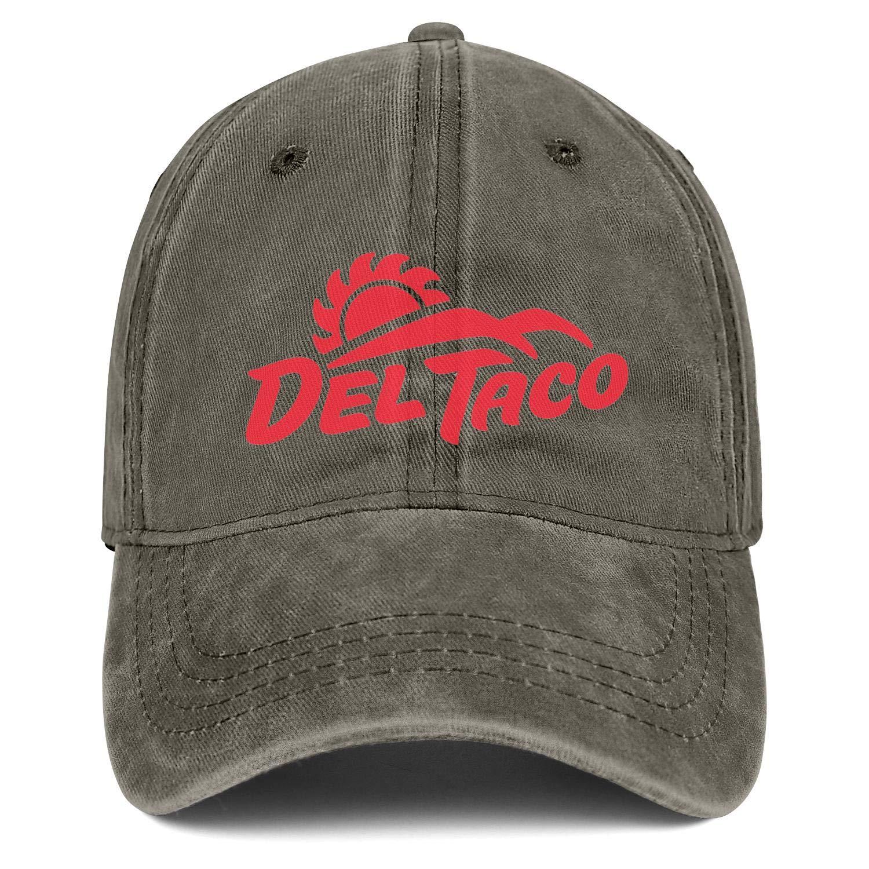WintyHC Del Taco Cowboy Hat Bucket Hat Adjustable Fits Gas Cap