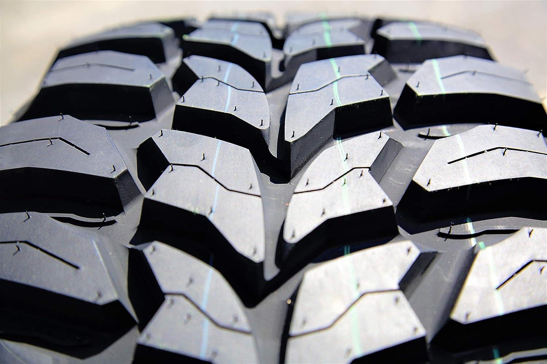Crosswind M/T - Neumático radial de barro, 30 x 9,50 R15LT 104Q LRC de 6 capas.