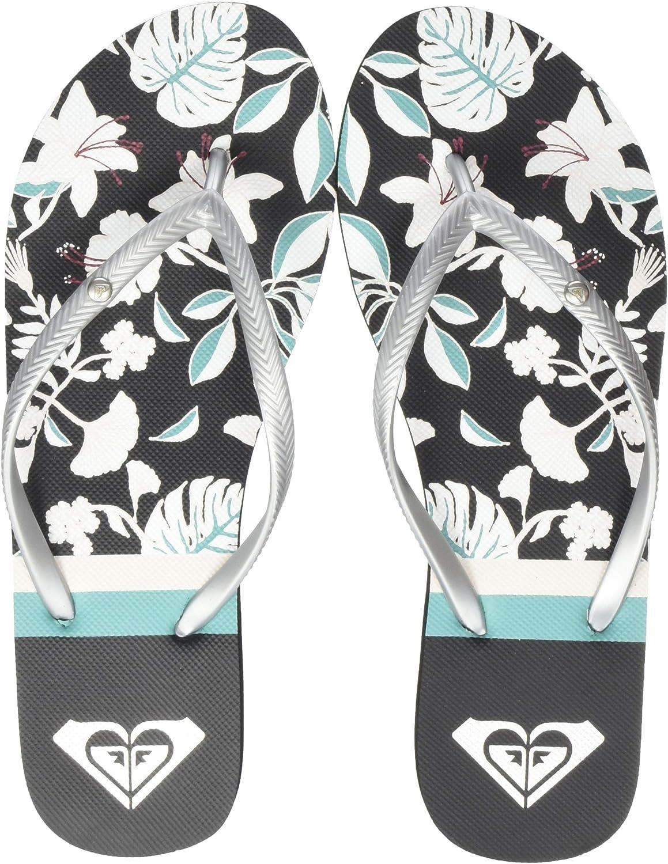Roxy Womens Beach /& Pool Shoes Womens 8 Multicolour Black Blue Bkb