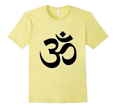 Amazon Om Symbol T Shirt Yoga Meditation Mindfulness Buddhism