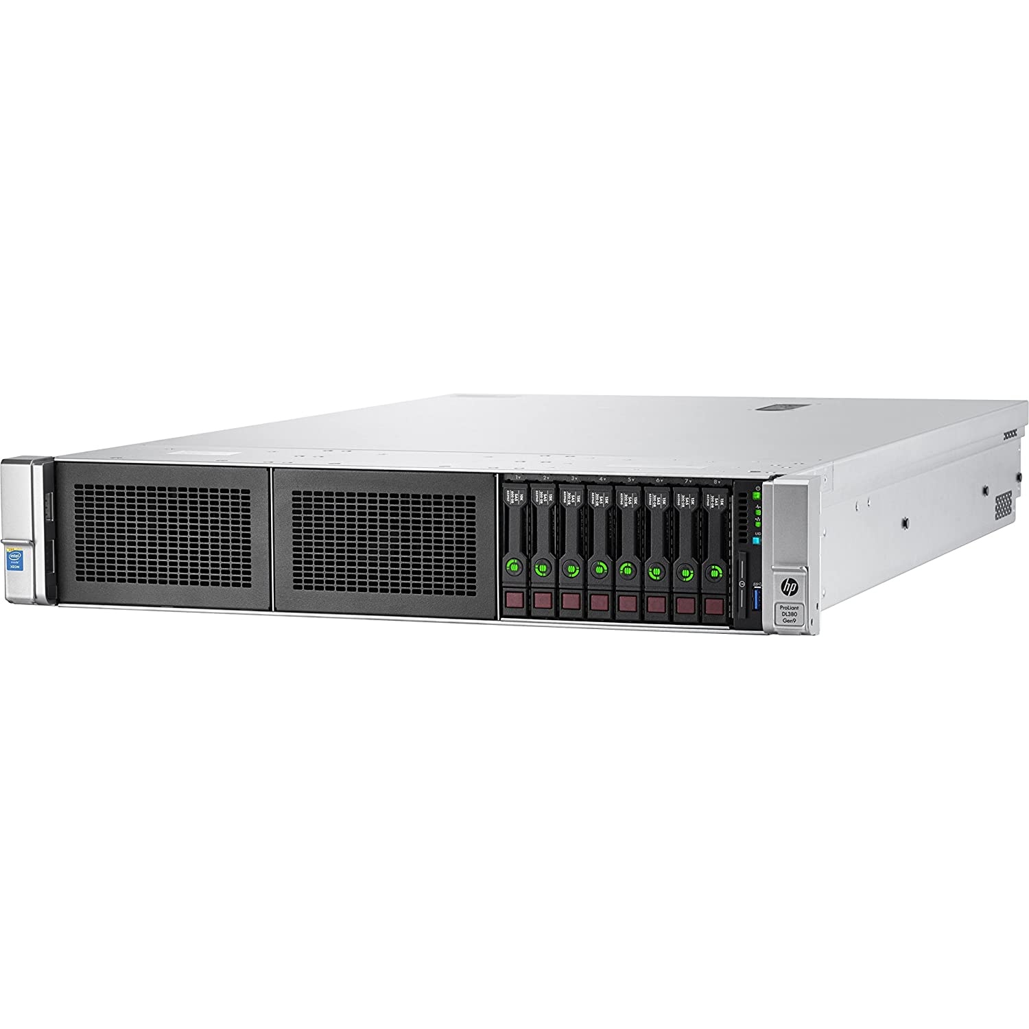 HPE DL380 G9 2U E5-2620v4 2.1GHz 8C 16GB 2400R SR ohne HDD max.8X hp SFF P440ar/2GB 4x1Gb Flex 500W(P) hp 3J-VOS (WW) Hewlett Packard Enterprise 826682-B21