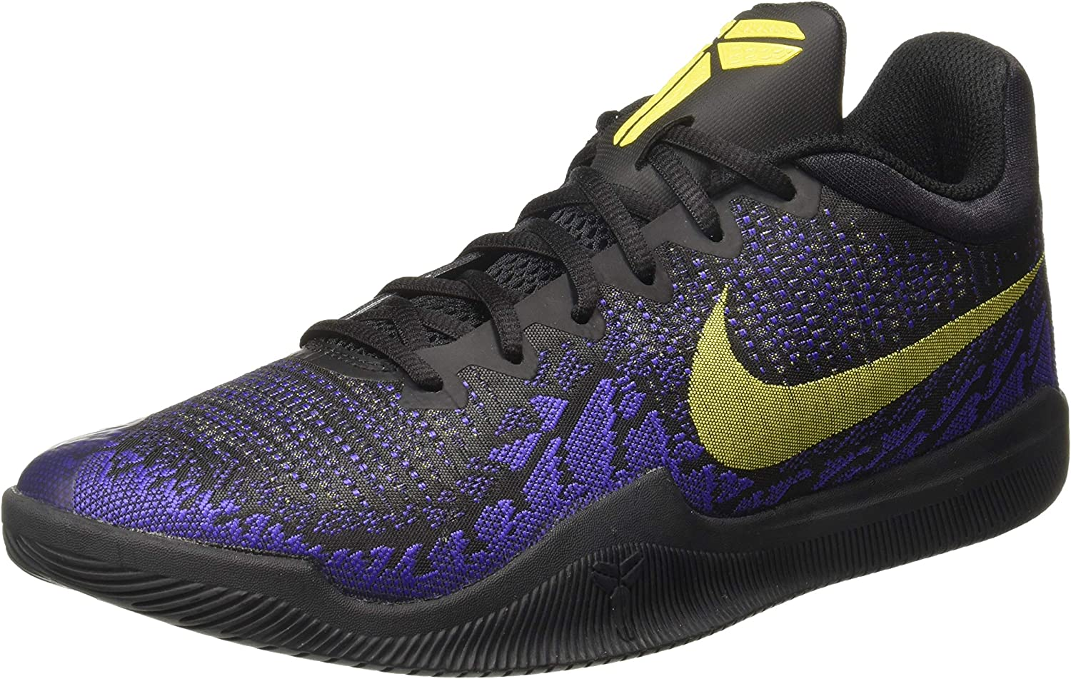 Nike Mamba Rage EP [908974-024] Men Basketball Shoes Kobe Bryant 黒/黄