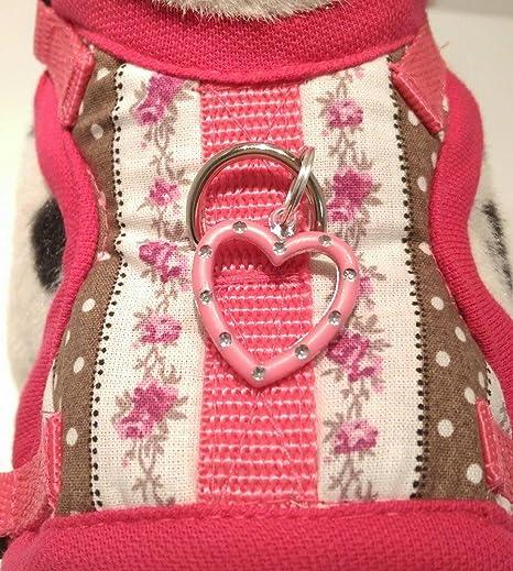 MASI Dogs Diseño XS softgesc Infantil Rosa corazón Flores ...