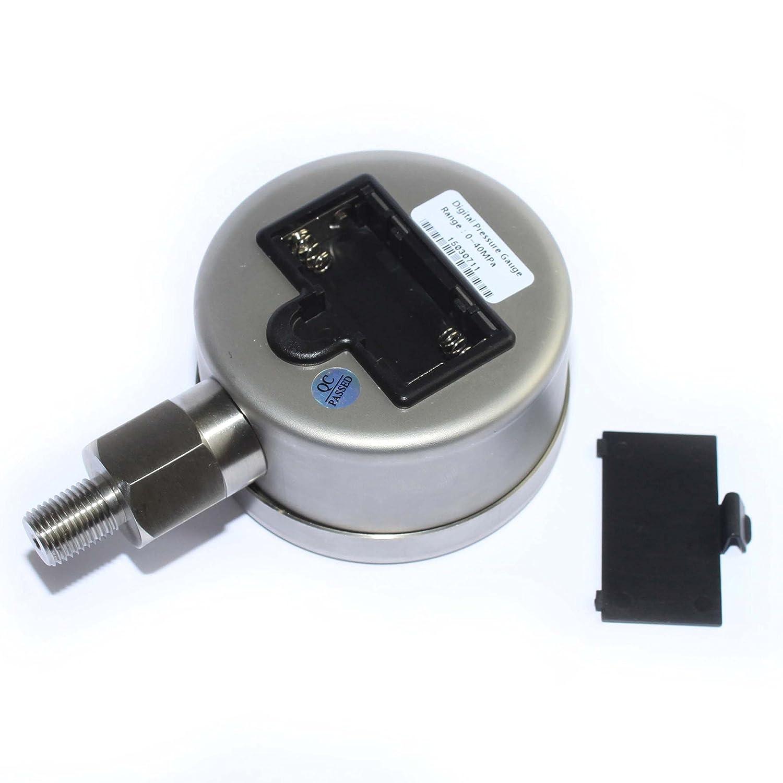 xzt num/érique Jauge de pression hydraulique 700bar//10000psi-1//4bsp-base Entr/ée