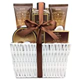 Amazon Price History for:Mothers Day Gift Idea Spa Gift Basket, with Refreshing Coconut Fragrance by Lovestee-Bath and Body Gift Set, Includes Shower Gel Body Lotion Body Scrub Body Butter Bath Salt and Loofah Back Scrubber