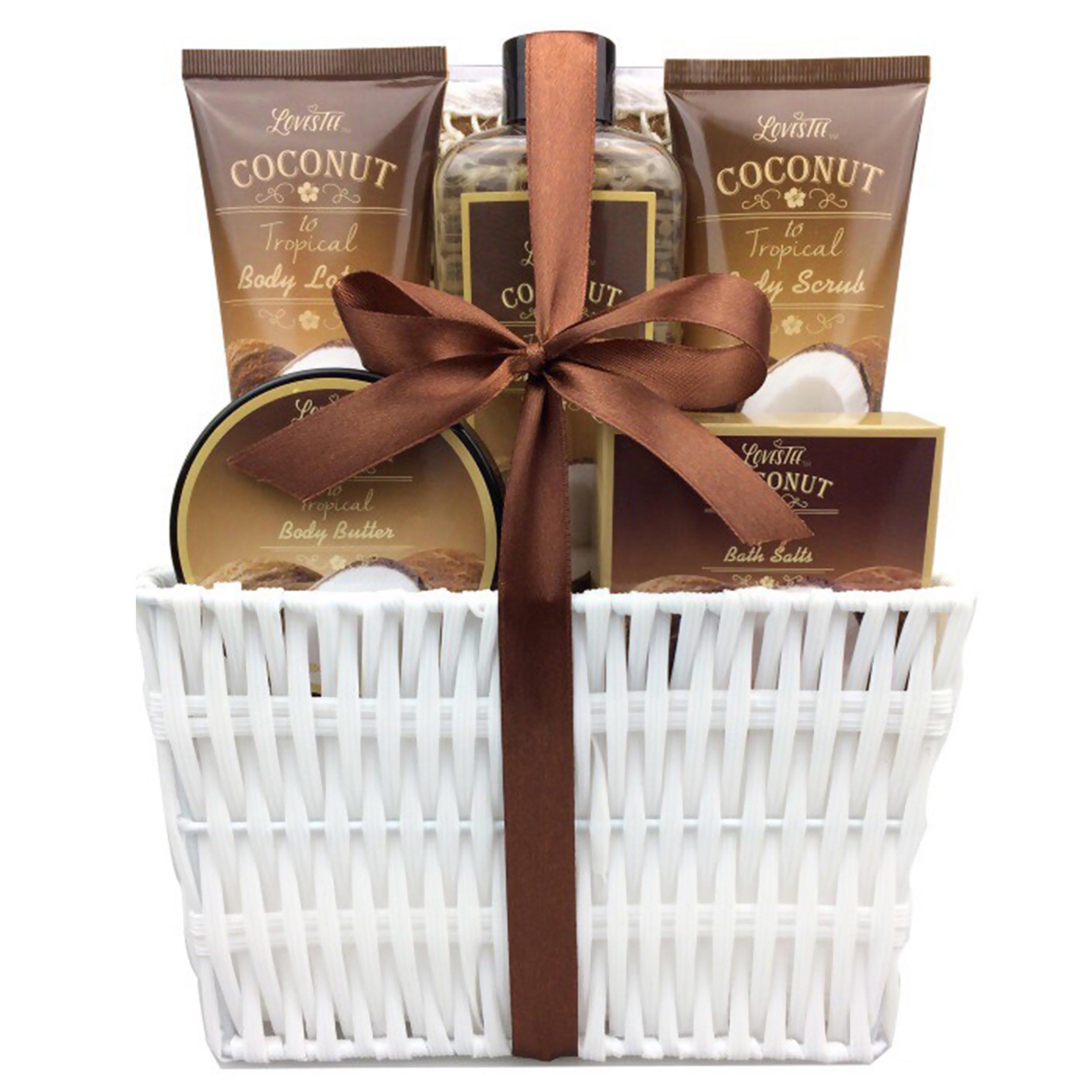 Amazon Com Spa Gift Basket Spa Basket With Lavender
