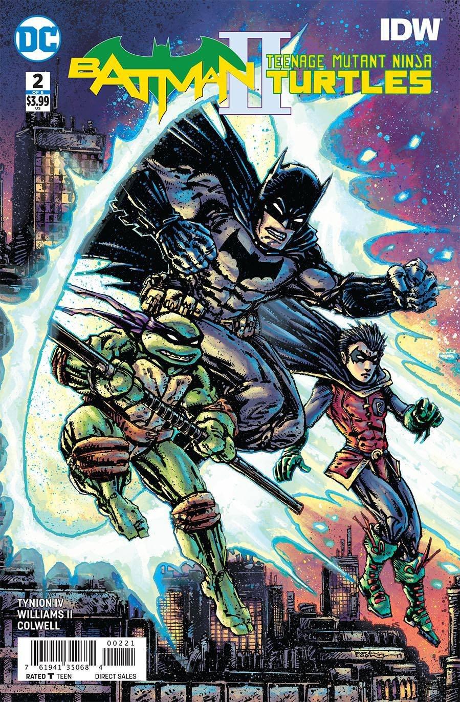 BATMAN TEENAGE MUTANT NINJA TURTLES II #2 VARIANT EDITION ...