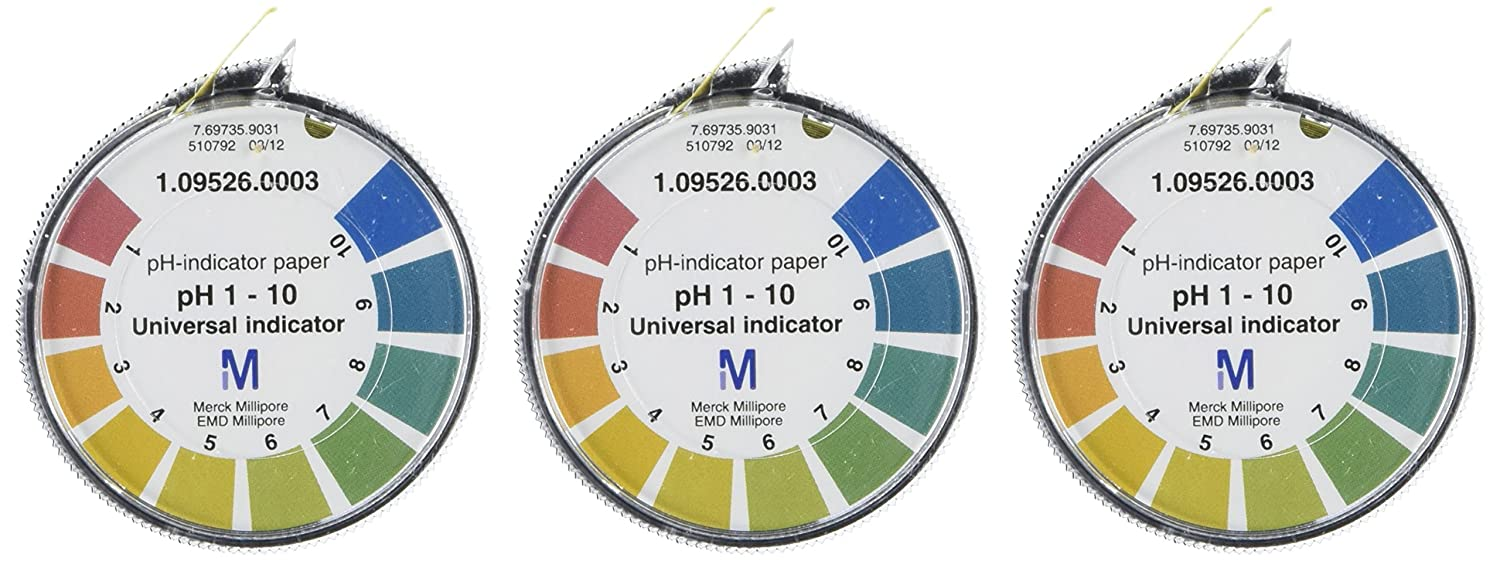 EMD Millipore 1.09526.0003 Universal pH-Indicator Paper with ... for Ph Scale Universal Indicator  193tgx