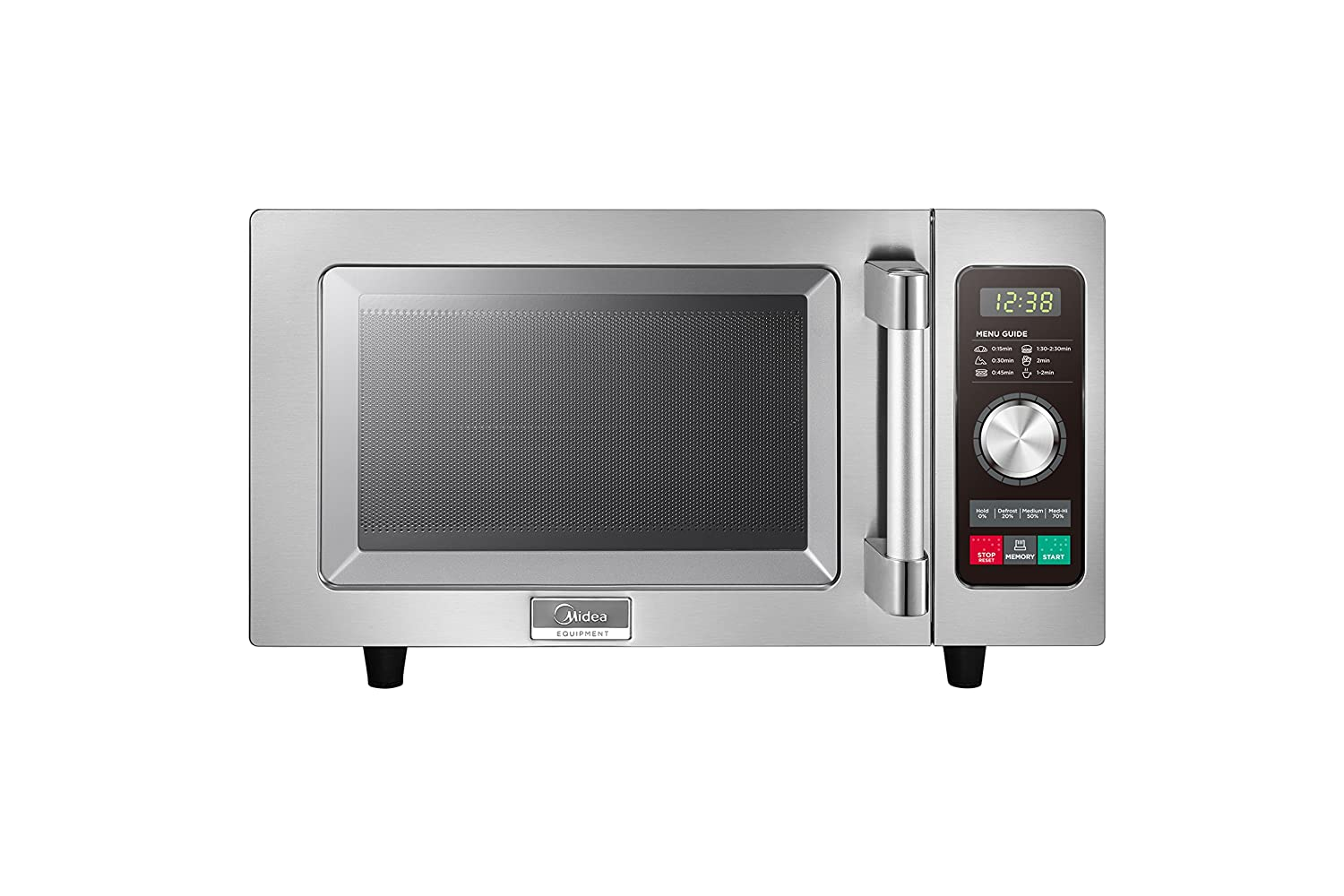 Midea 1025F2A Light Duty Commercial Microwave 1000W with Dial & Touch Controls