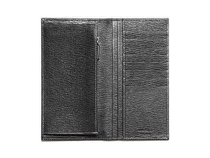 Cartera Salvatore Ferragamo Hombre Piel Negro 7073010351294 Negro 9.5x18 cm: Amazon.es: Ropa y accesorios