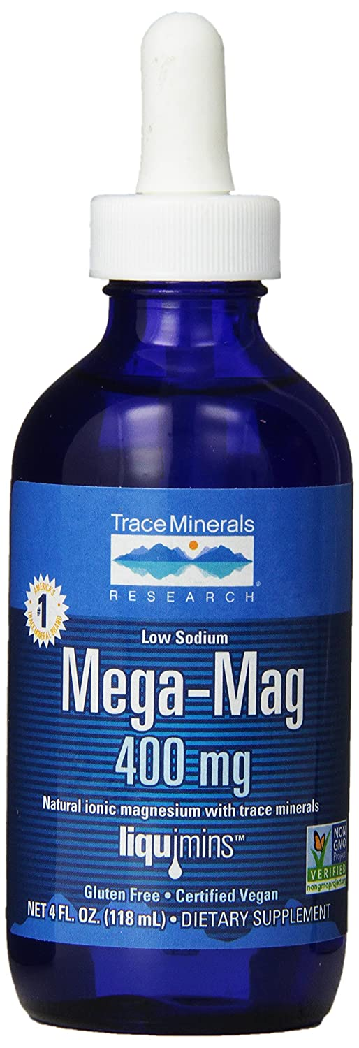 Mega-Mag, Natural Ionic Magnesium with Trace Minerals, 400 mg, 4 fl oz (118 ml): Amazon.es: Electrónica