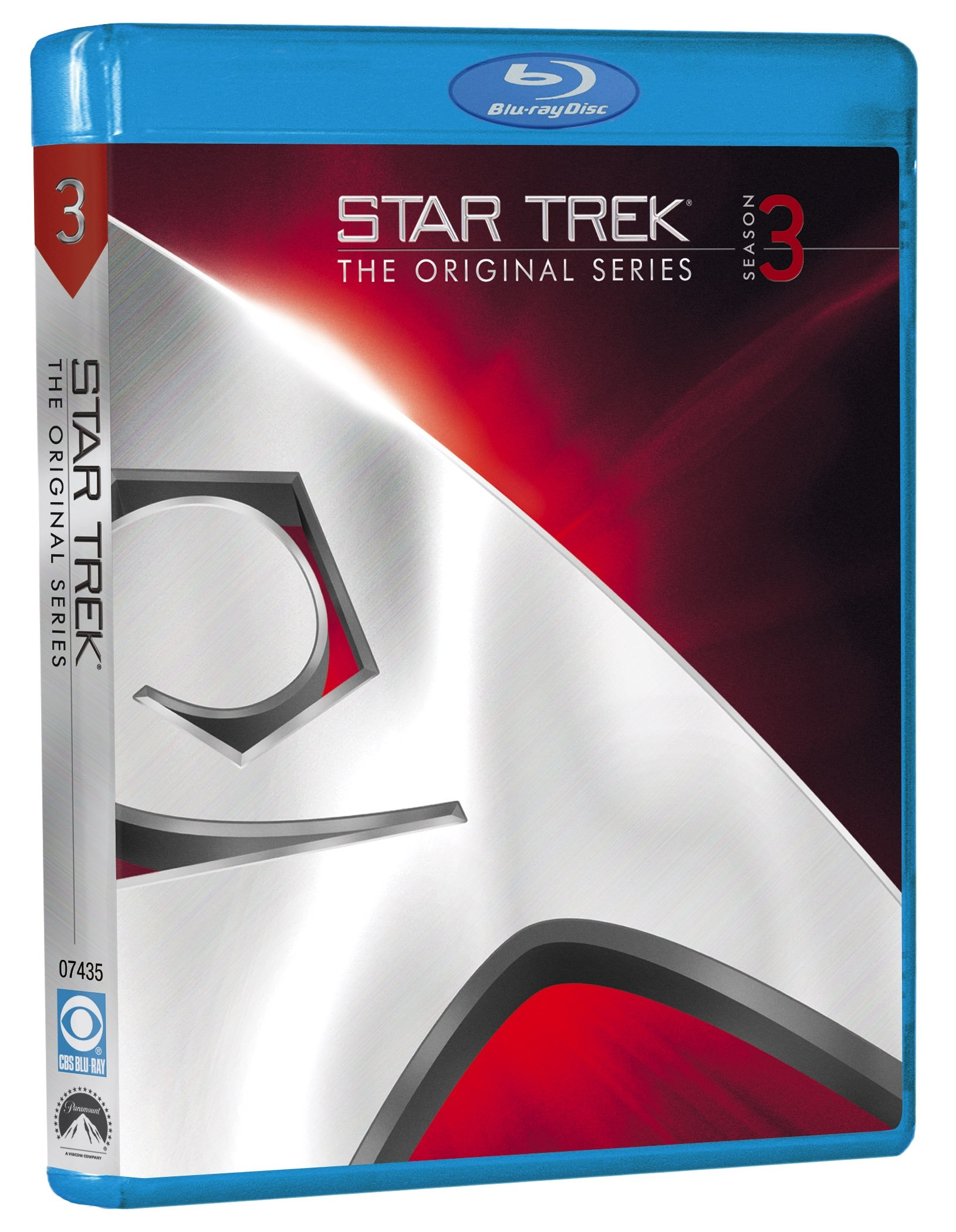 Blu-ray : Star Trek: The Original Series: Season 3 (, Dubbed, Dolby, AC-3, Digital Theater System)