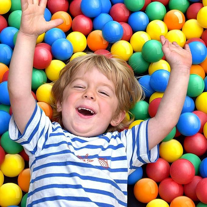 36 opinioni per Infantastic Palline Colorate di plastica per Bambini, Giocattolo, Diametro 5,5