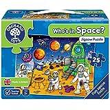 Orchard Toys - Orch221 - Puzzle Classique - Qui Est Dans L'espace?