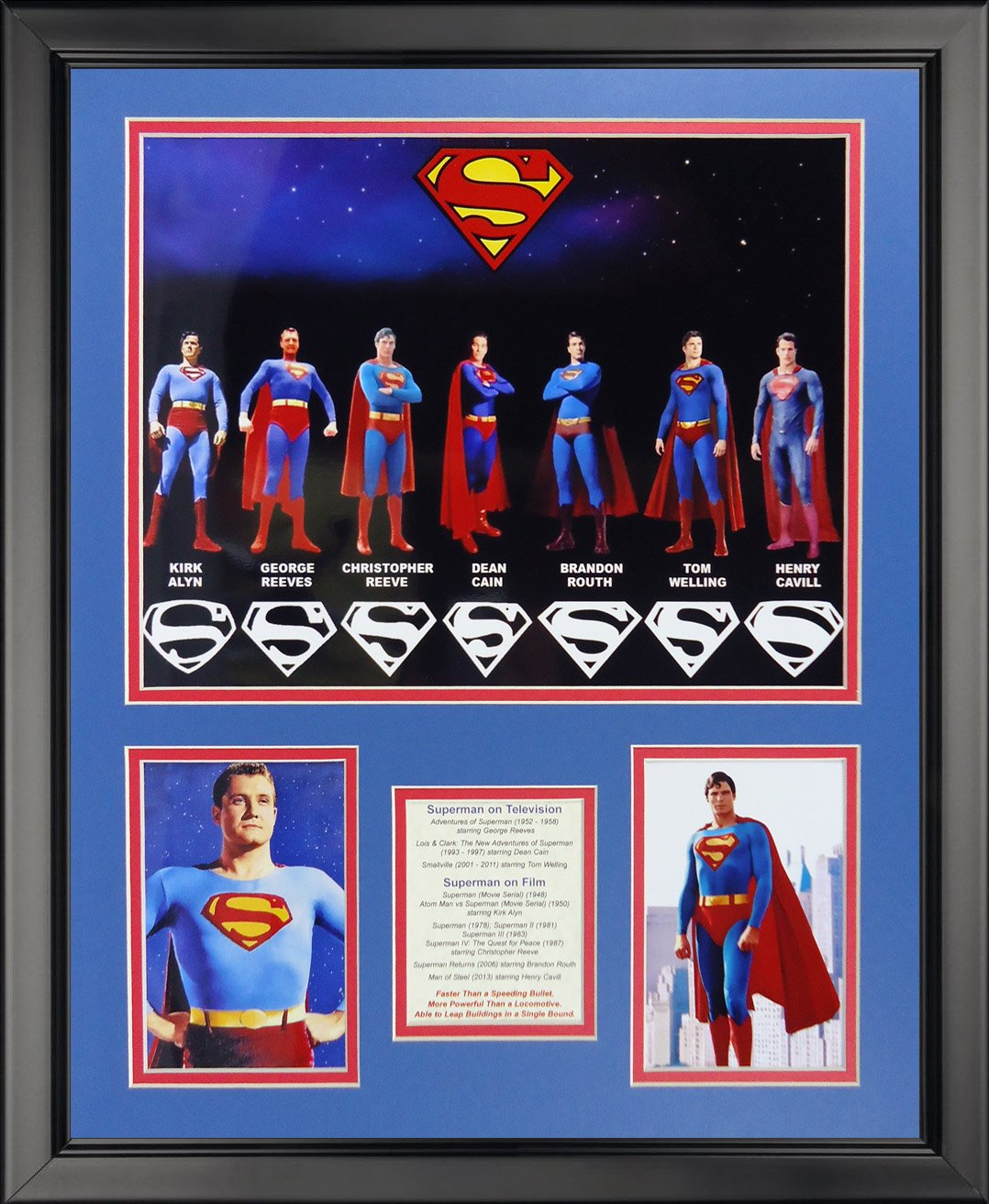 Legends Never Die Superman Collage Photo