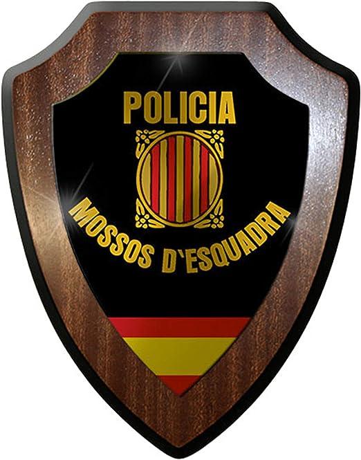 Escudo de # 8836/de pared escudo Policia Mossos d esquadra Policía Escudo de España, Cataluña insignia geschwaderjungs- # 12647: Amazon.es: Hogar