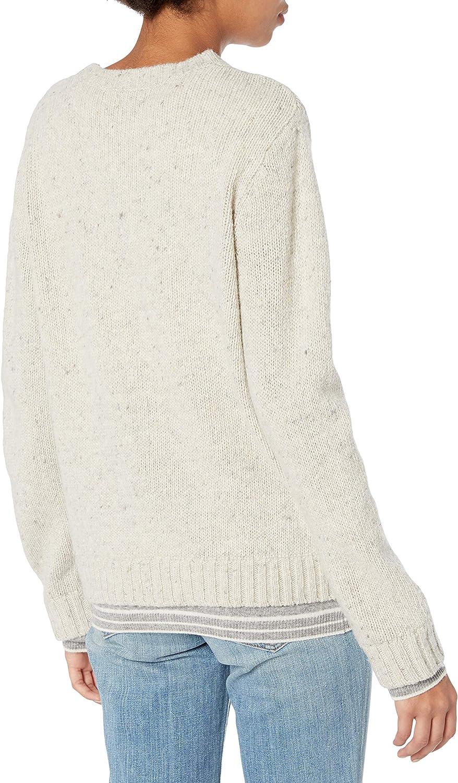 Majestic Filatures Womens Long Sleeve Crew Sweater