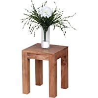 Wohnling Bois Massif Table d'appoint 35x 35x 45cm