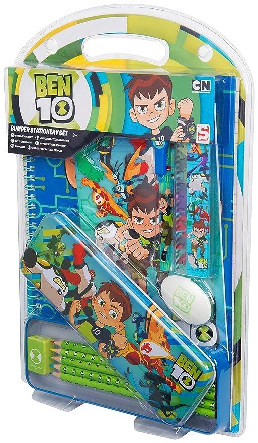 Ben 10 Bumper Stationery Set: Amazon.es: Juguetes y juegos