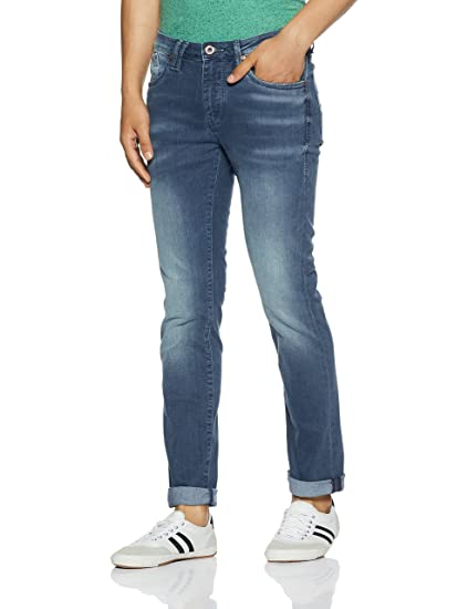 Flying Machine Men's Slim Fit Stretchable Jeans Men's Jeans at amazon
