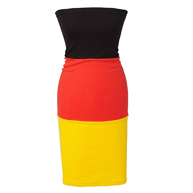 various colors 22df4 0a114 wellyou Donna Tube Vestito EM Germania 2016 One Size: Amazon ...