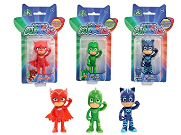 PJ Masks - Pack de 3 figuras