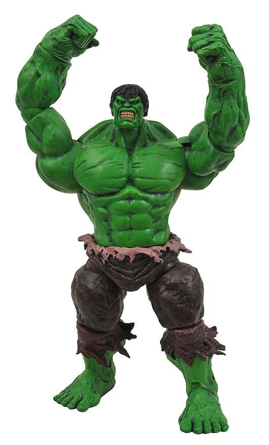 Amazon marvel select incredible hulk action figure toy toys marvel select incredible hulk action figure solutioingenieria Image collections