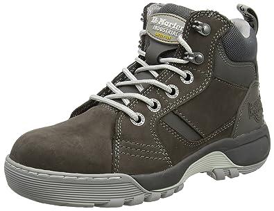 paras laatu hinta alennettu yksinoikeudella käsitellään Dr. Martens Women's Opal Steel Toe Safety Shoes