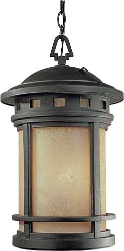 Designers Fountain ES2394-AM-ORB Sedona 11 Inch Hanging Lantern