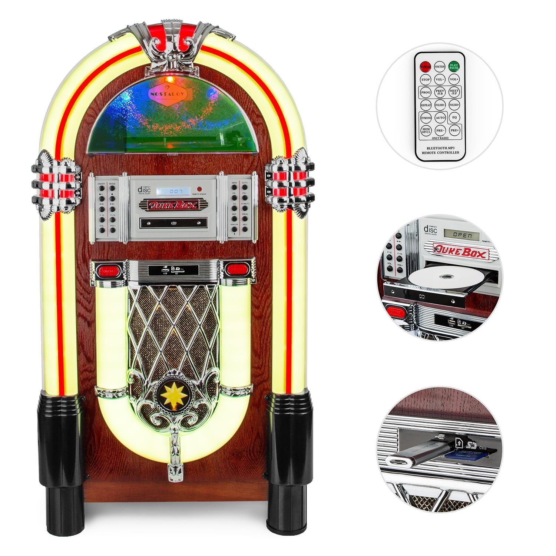 Auna Graceland TT Jukebox vintage (reproductor de discos ...