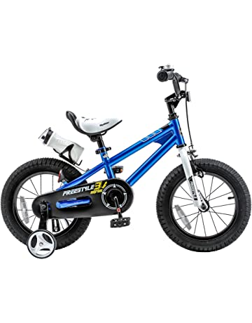 35d824532c6 RoyalBaby Freestyle Kid's Bike for Boys and Girls, 12 14 16 inch with  Training Wheels