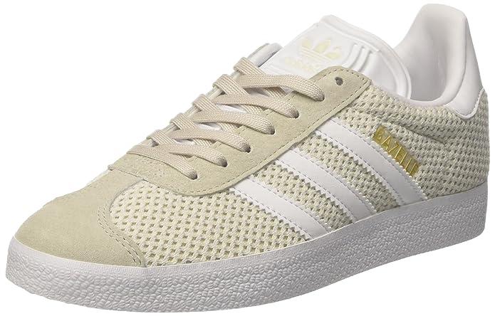 adidas Damen Gazelle Fitnessschuhe Sneaker Beige Talc