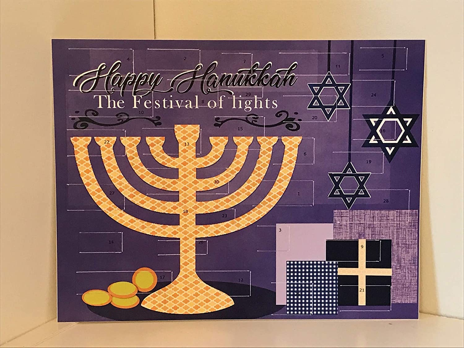 Countdown to Hanukkah Advent Calendar