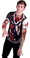 Faux Real Men's Zombie with Mesh Sleeve
