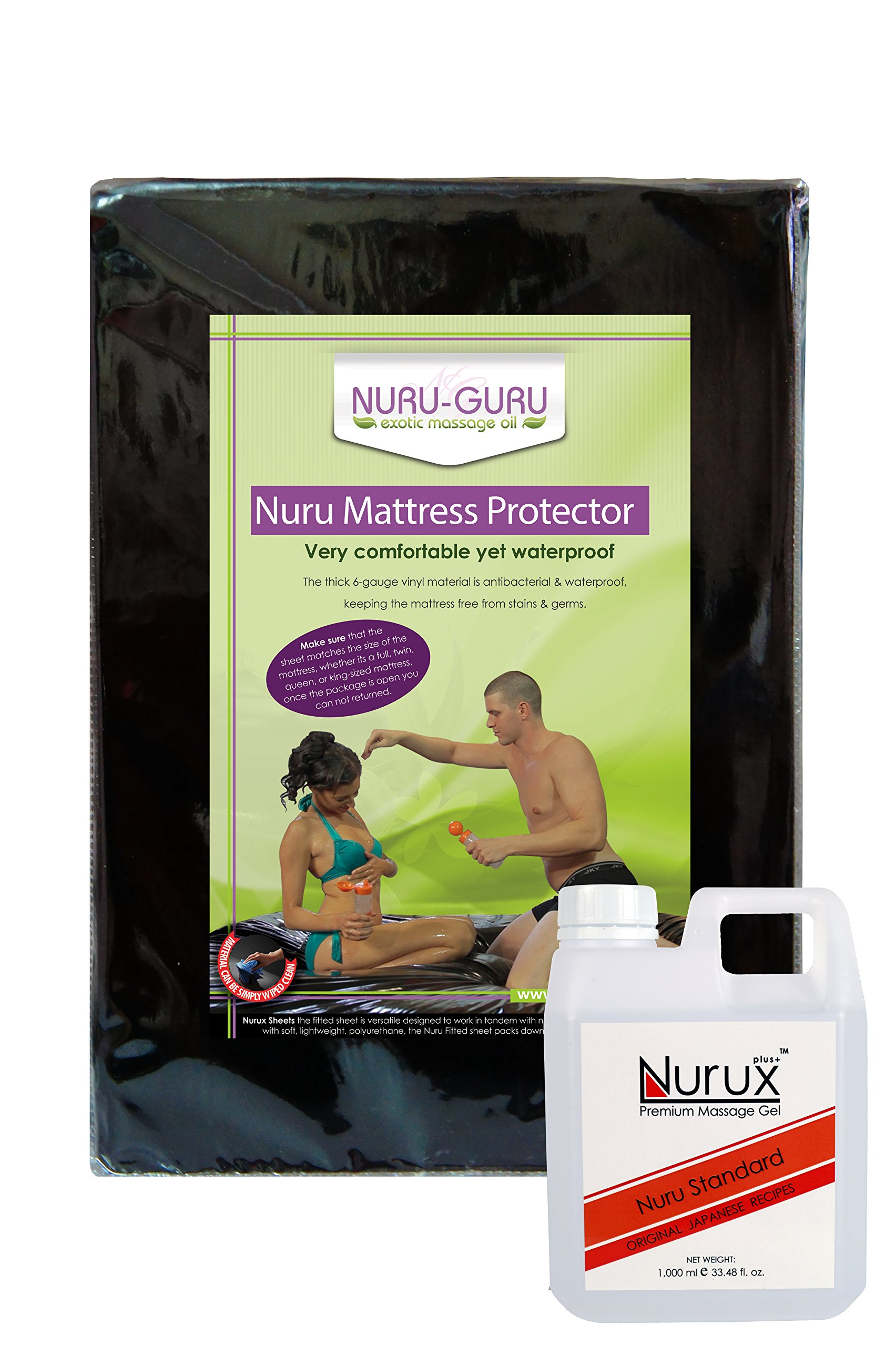 Nuru Massage Set Queen Black