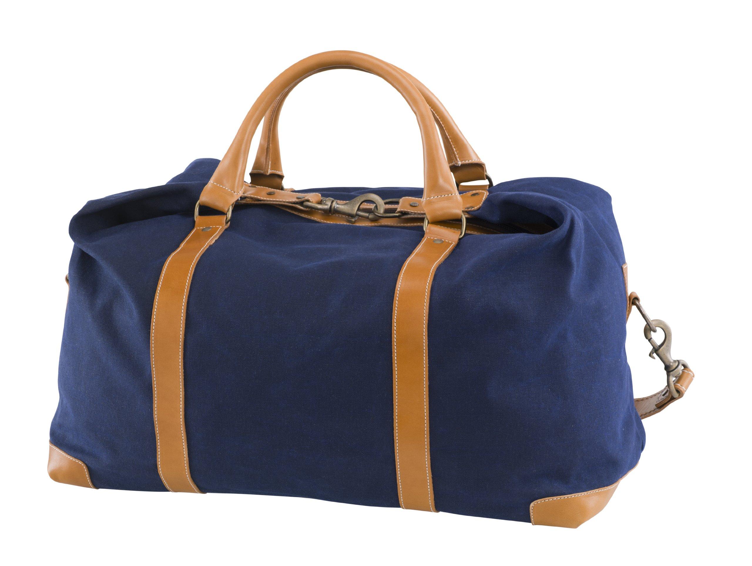BELDING American Collection Satchel Duffle Bag, Navy by BELDING (Image #2)