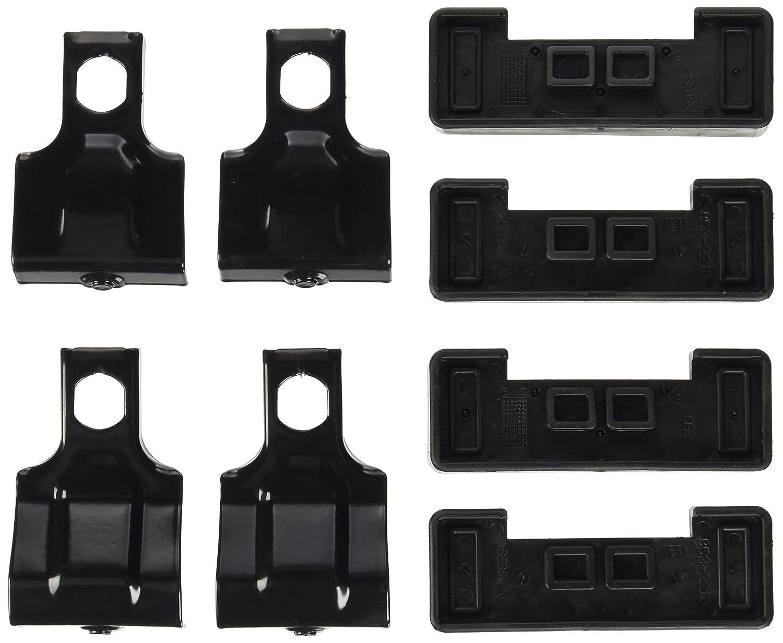 Thule 0091021363151 7121 SquareBar EVO 108 Black 1080 mm