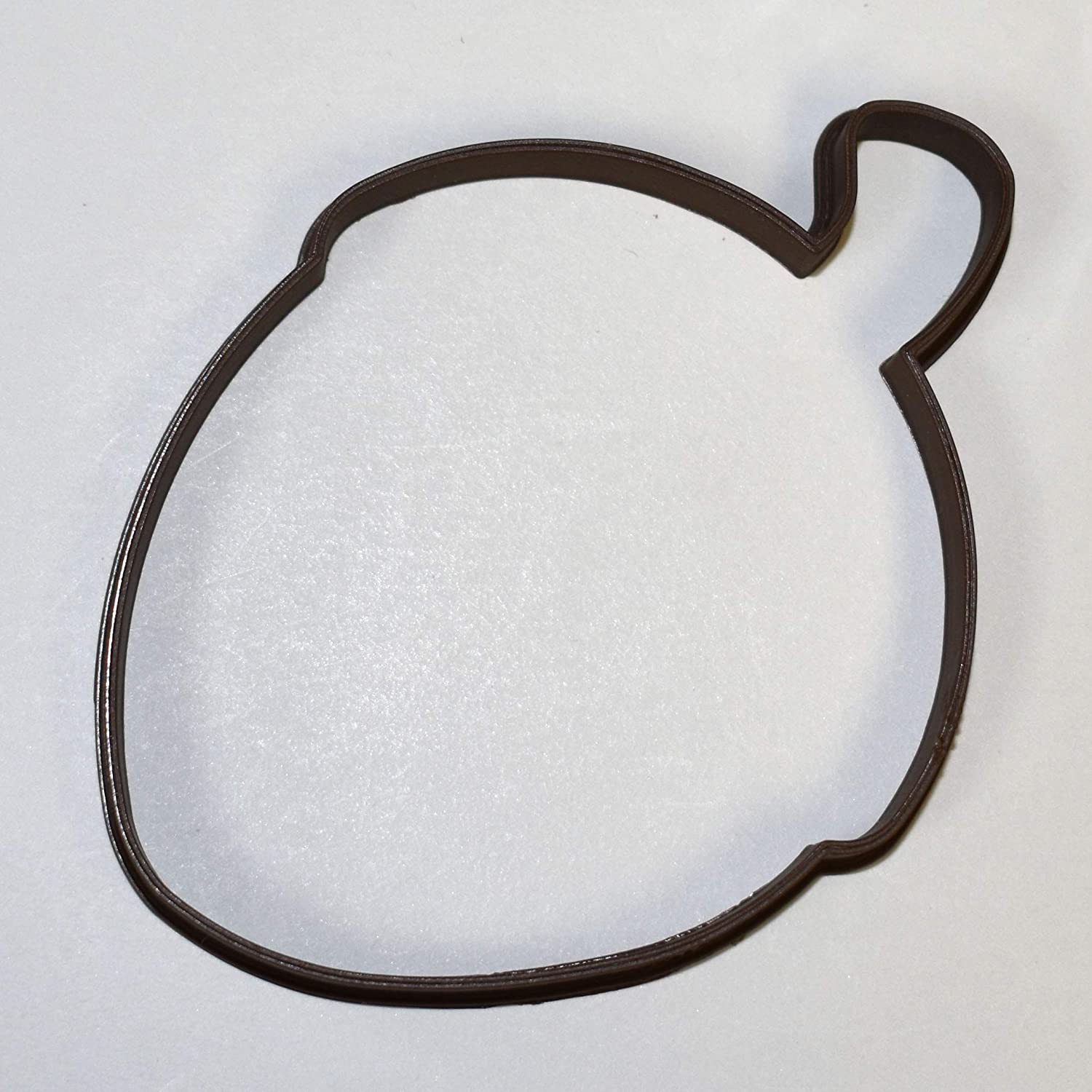 Acorn Nut Cookie Cutter Biscuit Pastry Fondant Stencil Silhouette Seed Oak NA03