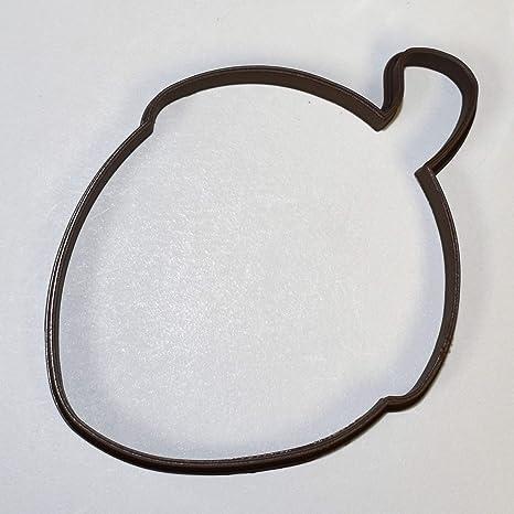 Écureuil et Acorn Cookie Cutter//Fondant//Icing