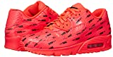 Nike Men's Air Max 90 Premium Running Shoe 11 Red