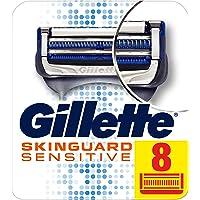 Gillette SkinGuard Men's Razor Blades For Sensitive Skin, 8 blade Refills
