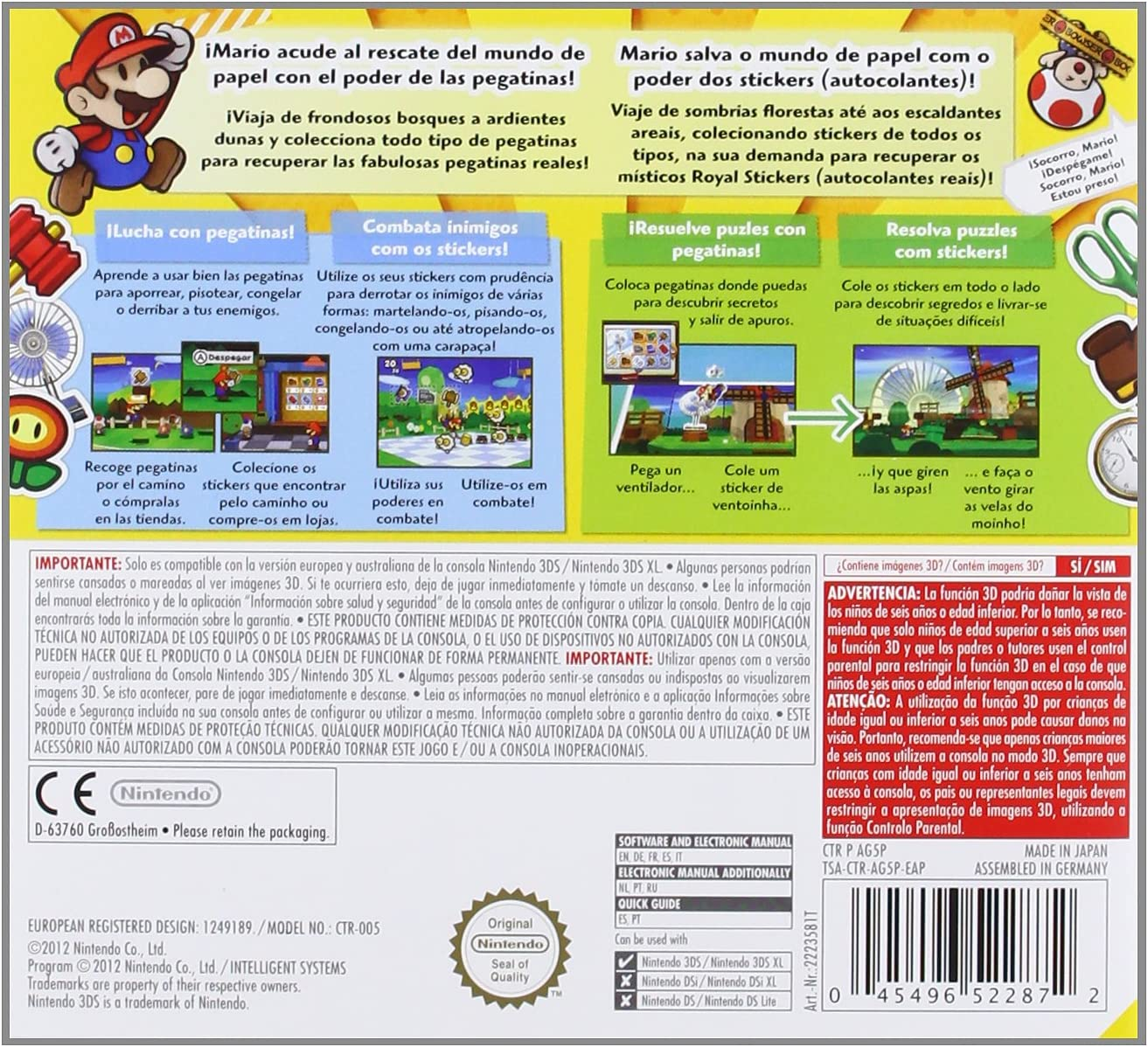 Paper Mario: Sticker Star: Amazon.es: Videojuegos