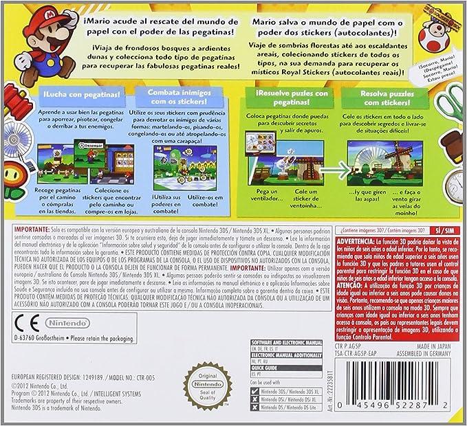 Paper Mario: Sticker Star: Amazon.es: Videojuegos