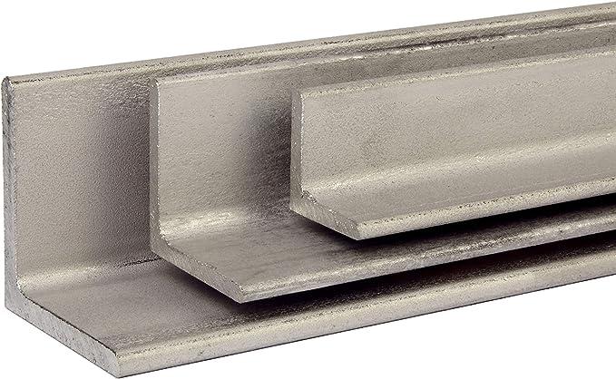 VA Winkel Edelstahl V2A Winkeleisen Oberfl/äche blank L/änge 1000 mm Abmessungen 20 x 20 x 3 mm